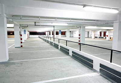 Car park lighting - indoor car park