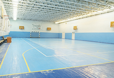 Sports facility lighting