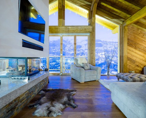 Chalet refurbishment, Three Valleys, France