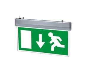 Ozone Emergency Exit Sign